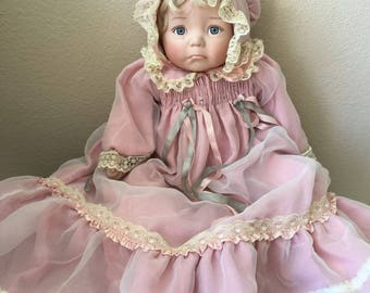 Antique Dianna Effner Porcelain Doll