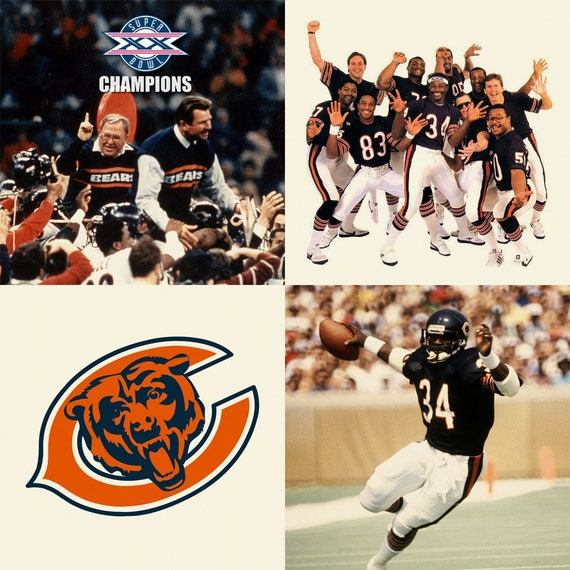 Chicago Bears 1985 Super ...