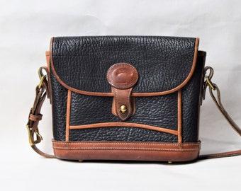 Dooney & Bourke Navy Leather Shoulder Bag