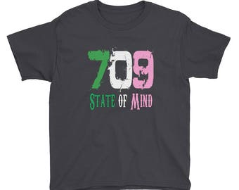 709 State of Mind Original - Youth Short Sleeve T-Shirt