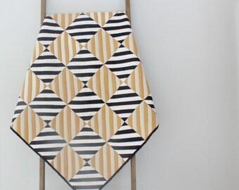 Custom Made-to-Order Modern Patchwork Baby Quilt, Baby Blanket, Stroller Blanket, Play Mat - Stripped Piecing Design