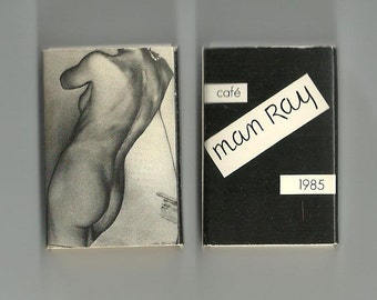 Man Ray Cafe Man Ray Mint Condition from an unopened 4 pack 1985 Dada Artist Surrealism G Ray Hawkins Gallery