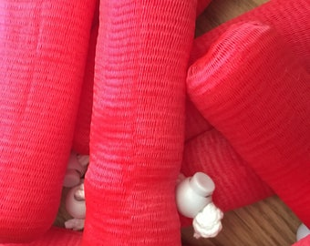 Red Mesh Exfoliating Soap Saver