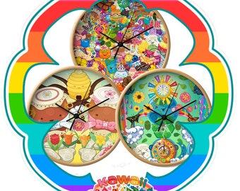 Kawaii Universe - Cute Themed Designer Clock