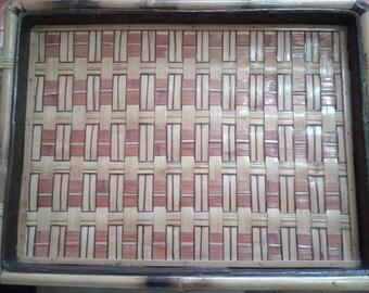 Bamboo tray!