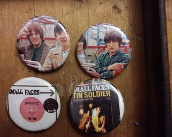 Small Faces Pins
