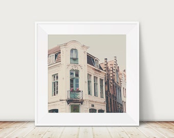 Bruges photograph mint door photograph architecture photograph travel photography Belgium photograph mint door print Bruges print