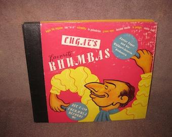 Cugat's Favorite Rhumbas - Xavier Cugat - 78 RPM Record Set
