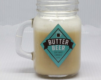 Magical Beer Candle - Small Caramel Soy Candle