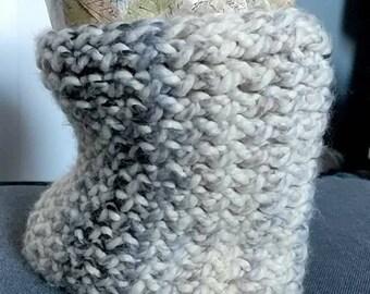 Super Cozy Loom-knit Neck Warmer