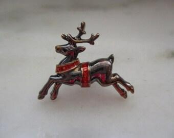 Vintage Avon Reindeer Tac Pin or Lapel Pin