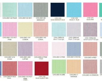 Seersucker Fabric  Solid Seersucker Stripe Seersucker and Check Seersucker Pick your color