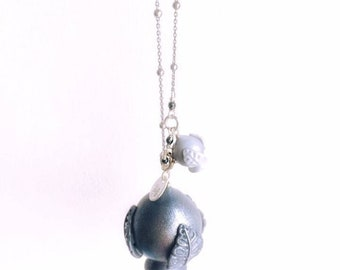 MOM & SON necklace with Lane Pugliese