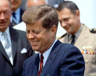 John Kennedy , Kennedy at Cape Canaveral on August 9, 1961