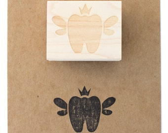 Tooth Fairy Stamp | Rubber Stamp | Made in the USA | SP 005