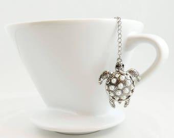 Turtle Loose Tea Infuser Tea Strainer Mesh Loose Leaf Tea