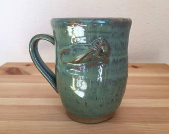 Super Monster - 12 oz Seafoam Green Mug