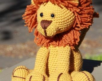 Lion Softie | Lion Stuffed Animal | Amigurumi Lion | Crochet Lion