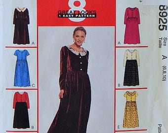 Women's Dress Pattern - Misses' Sizes 6, 8, 10 - McCall's 8 Great Looks 1 Easy Pattern - Uncut