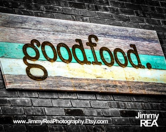 Teal kitchen art, farmhouse kitchen, rustic kitchen decor, blue kitchen decor, mint country kitchen, teal wall decor, country kitchen art