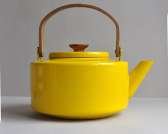 Bright Yellow Kettle - Micheal Lax - Copco