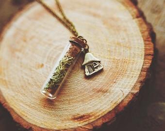 fairytale cottage necklace.