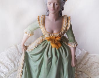 Limited Edition Marie Antoinette by Franklin Porcelain Collectible Figurine Genuine