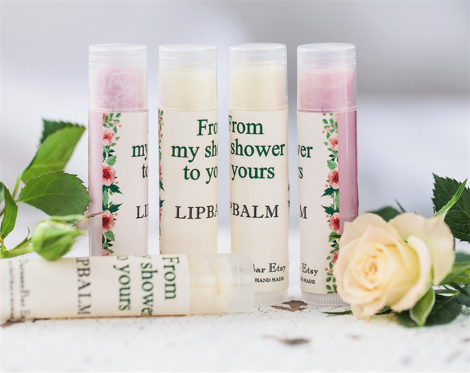 10 Lip Balm Wedding favorBridal shower favorsCustom