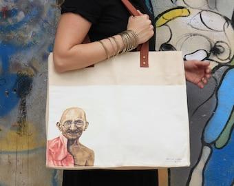Market bag, market bag canvas ,canvas market bag, beach bag, oversized beach bag, shoulder bag, vegan market bag, boho bag, gandhi tote bag