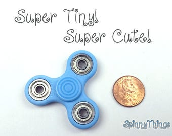 Fidget Spinner Mini Micro Tri Hand Toy for Kids and Adults - Edc - Little Hands - MADE IN USA - Non-toxic - Many Colors