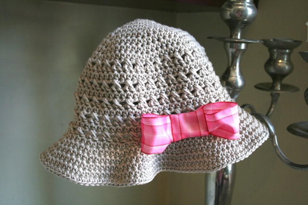 Crochet Pattern Crochet Hat Pattern Summer Floppy Hat Pattern
