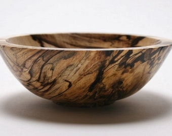 """Spalted Hackberry Wooden Bowl #1774  5 5/8"""" x 2"""" wooden bowls wood bowls hand turned bowls wedding"""