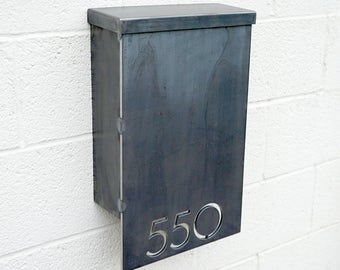 The Andover Mailbox - Custom - Steel Modern Metal Letter Box
