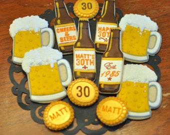Beer Themed Cookies