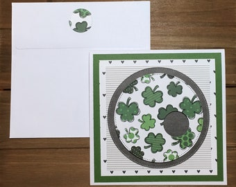 Handmade St Patrick's Day card