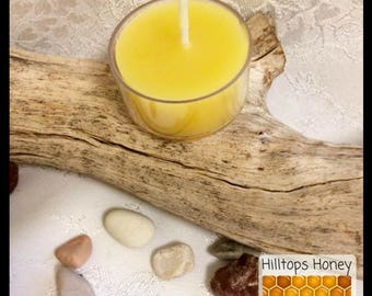 Tea Light Candle, all natural beeswax