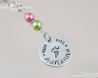 Runner Girl Zipper Pull - Run Like A Girl - Gifts for Runners -  Finisher Gift - Personalized Zipper Pulls