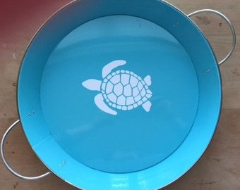 Turtle or Koi Fish Serving Tray (Sold Separately)