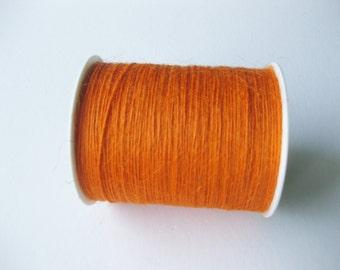 50 Yards of 1mm Orange Jute Twine