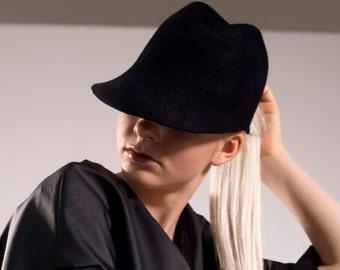 Felt Visor Hat