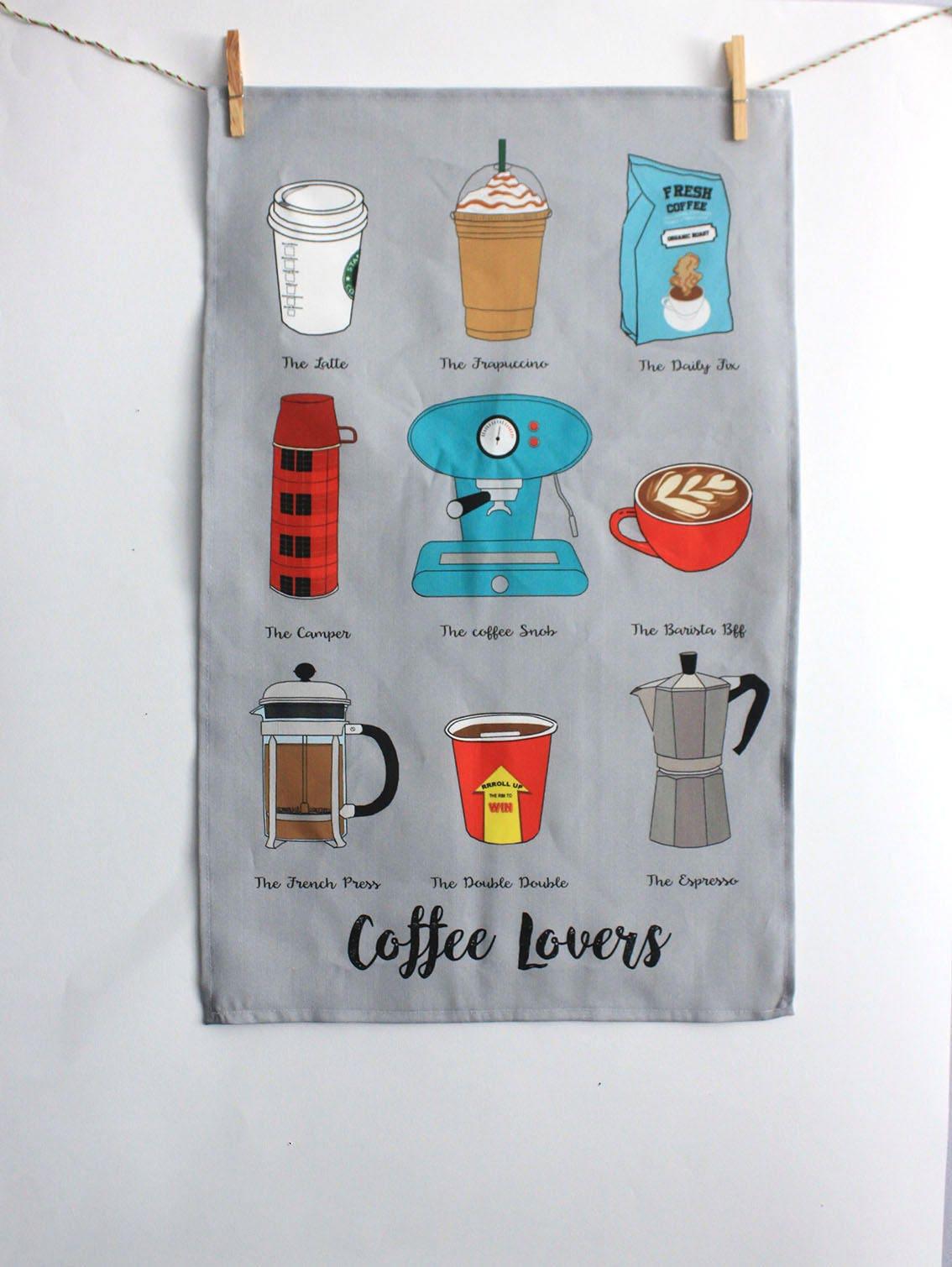 Geschirrtuch: Cotton canvas Leinen-Küche