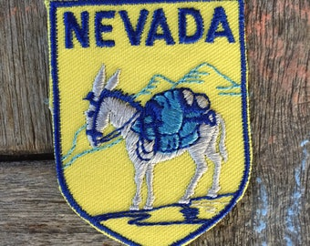 Nevada Vintage Souvenir Travel Patch from Baxter Lane