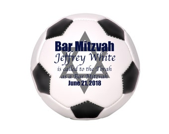 Barmitzvah Gift, Barmitzvah Favors, Bar Mitzvah Gift, Judaica, Barmitzvah Invitations, Personalized Soccer Gifts, Jewish Party Centerpiece