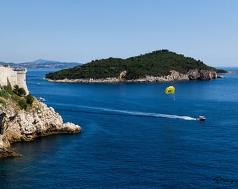 Parasailing in Croatia