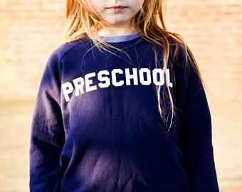 Preschool Sweatshirt by Hatch For Kids - The Original Back To School Fleece Pullover Children's Clothing Animal House Bluto College 2T 4T 6