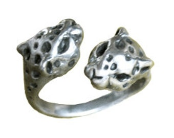 Leopard Ring SALE SALE!!     silver gold adjustable jewelry