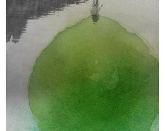 Aqva Vert - Fine Art Print