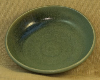 storm blue handmade ceramic serving bowl