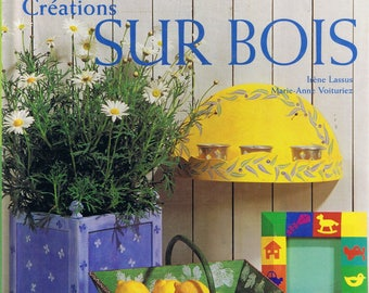 Book painting designs on wood Dessain and Tolra home items