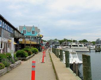 Dockside Marina Oak Bluffs Harbor Martha's Vineyard